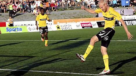 Ilja Venäläinen teki KuPSin voittomaalin.