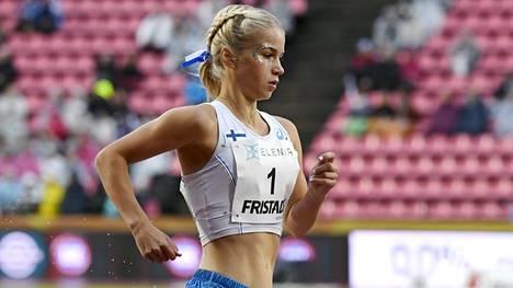 Alisa Vaino kuvattuna Suomen ja Ruotsin välisessä maaottelussa elokuussa 2018.