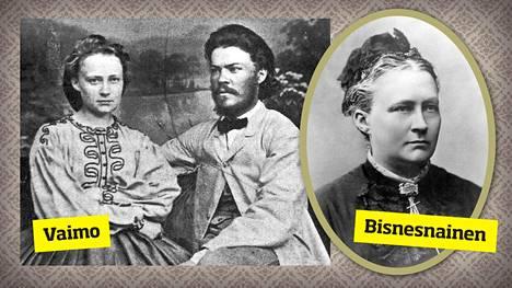 Ferdinand Canth kannusti ja tuki Minna Canthia, ja aviopari kirjoitti lehtitekstejä yhdessä. Minna Canth otti hoitaakseen isänsä lankakaupan, joka oli jo konkurssitilassa. Hän sai sen menestymään.