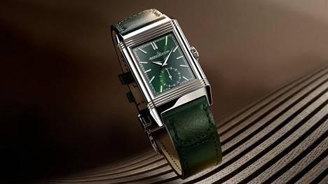Jaeger-LeCoultre Reverso nyt trendikkäästi vihreänä.