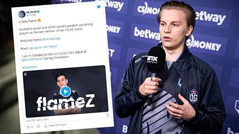 """Aleksi """"Aleksib"""" Virolaisen joukkue osti nuoren lupauksen."""