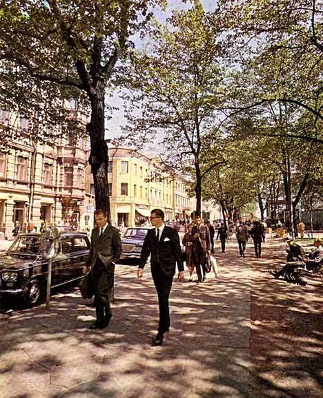Markus Lepon valokuva on julkaistu vuonna 1966 Helsinki ja helsinkiläiset -kirjassa.