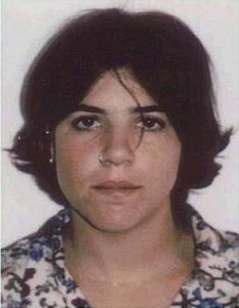 USA:n poliisi julkaisi Jennifer Capriatin pidätyskuvan vuonna 1994.