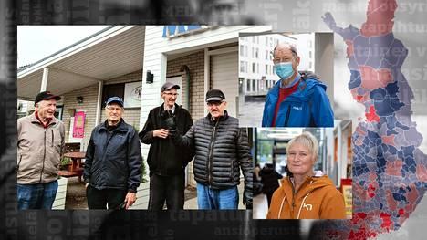 Taloussanomat vieraili kunnissa, joissa on isoimmat ja pienimmät eläkkeet.