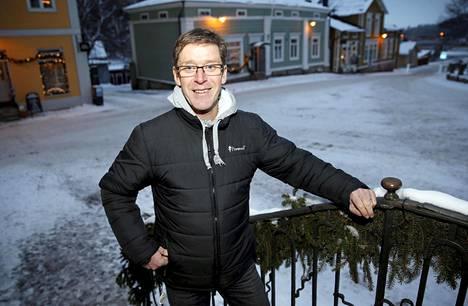 Tommy Ekblom tuntee idyllisen kotikaupunkinsa Porvoon läpikotaisin.