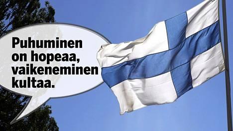 """BBC pohtii suomalaisten """"puhumattomuutta""""."""