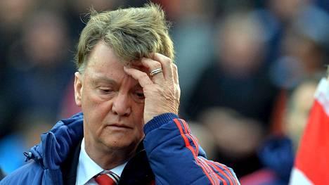 Louis van Gaalin aika ManUn managerina on käymässä vähiin.