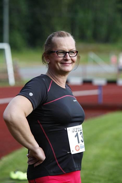 Vera Räsänen vuonna 2014 Virroilla.