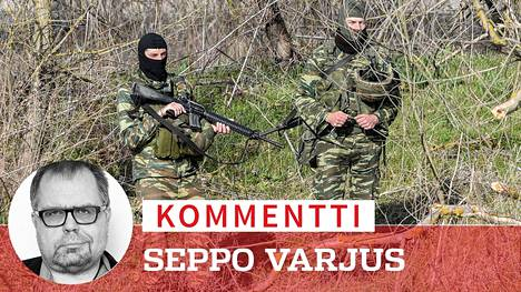 Kreikkalaiset sotilaat ja poliisit tukkivat nyt tien EU:n alueelle.