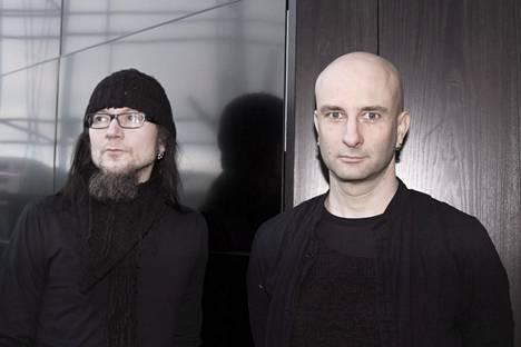 Kitaristi Häiriön ja laulaja Herra Ylpön edustama Maj Karma -yhtye julkaisee perjantaina Peltisydän-albumin.