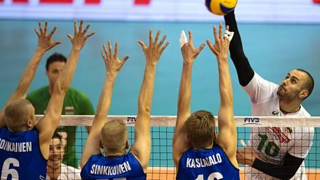 Suomen lentopallomiehille selvä tappio MM-avauksessa