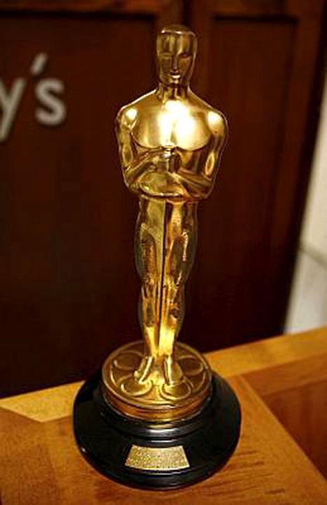 Oscar-patsaita voi ihastella museossa Hollywoodissa vuonna 2012.