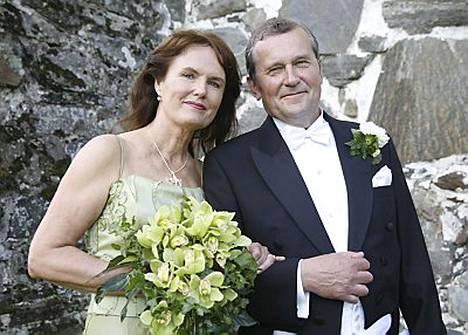 Panu Rajala ja Marja Norha ovat nyt naimisissa
