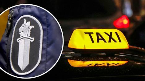 Varsinais-Suomen käräjäoikeuden mukaan taksijonossa tapahtuneen selkkauksen moitittavuutta lisäsi se, että teko perustui rasistiseen vaikuttimeen ja että tekijä oli poliisi. Vastaajana ollut poliisi kiisti syytteet. Kuvituskuva.