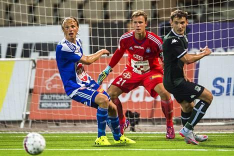 Pystyykö Thomas Dähne torjumaan HJK:n mestaruuteen?