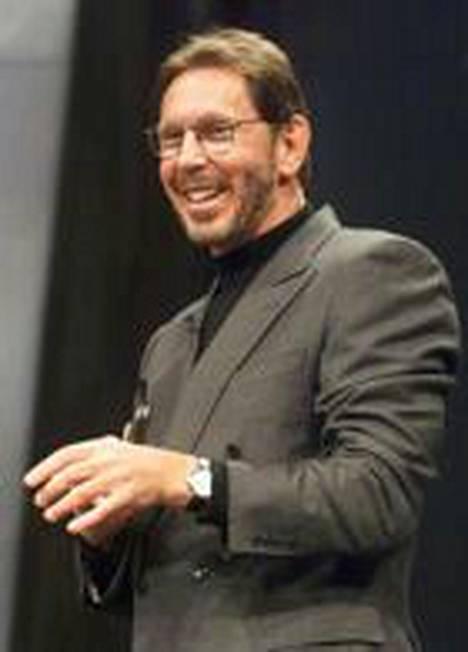 Oraclen toimitusjohtaja Larry Ellison on tullut tunnetuksi nopeista peliliikkeistään.
