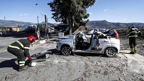 Romanialainen mies kuoli onnettomuudessa Rooman lähellä. Turma tilastoidaan vuoden 2019 lukemaan.