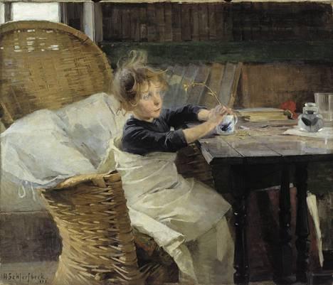 Helene Schjerfbeck, Toipilas