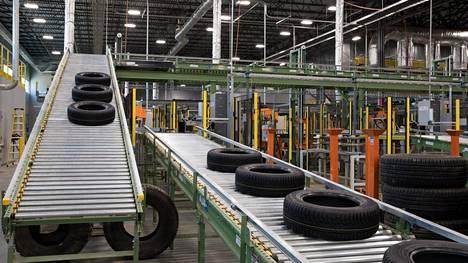 Nokian Renkaiden tehdas Yhdysvaltain Daytonissa Tennesseessä.
