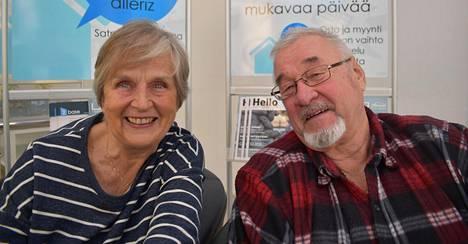 Eläkkeellä olevat Olavi ja Irmeli Leinonen löysivät toisensa uudestaan Turkin Alanyassa.