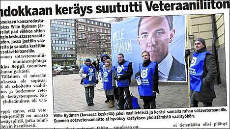 Ilta-Sanomat kertoi kampanjasta tiistain lehdessä.