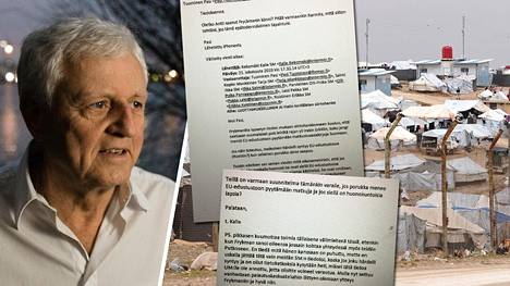 Al-Holin leirin suomalaisten asialla ollut liikemies Peter Fryckman tarjosi ministeriölle apuaan kotiuttamisissa.