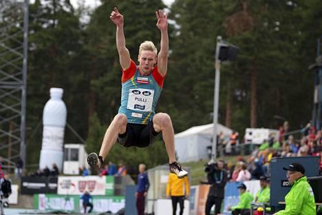 Kristian Pullille kelpasi hyppykeikka Monachilissa.