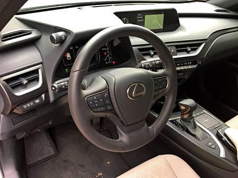 Laatu huokuu kaikkialta. Luonteeltaan Lexus UX:n tarjoama luksus on kenties parhaiten kuvailtavissa hienostuneeksi.