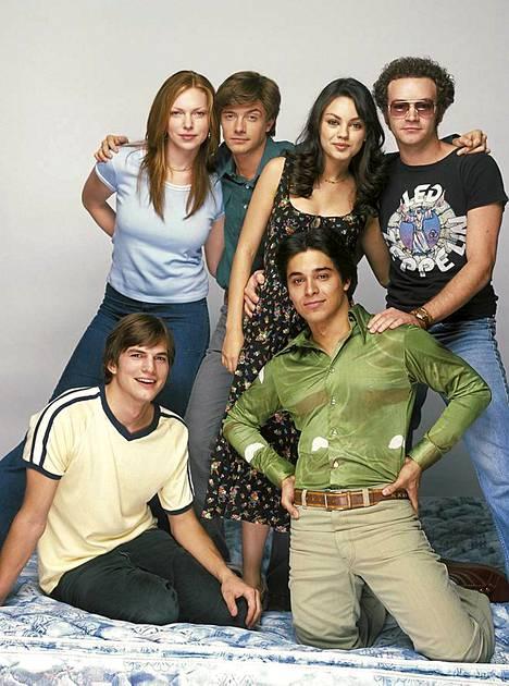 Kunis ja Kutcher esittivät pariskuntaa 2000-luvun alkupuolen suosikkisarjassa.