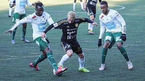 IFK Mariehamn ja SJK kohtaavat Maarianhaminassa sunnuntaina.