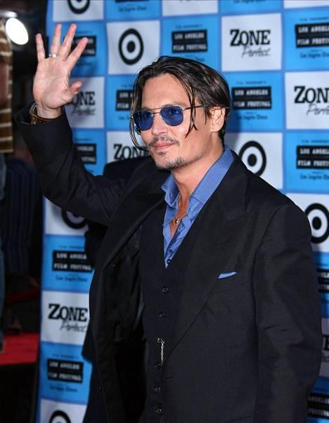 Kuvassa Johnny Depp vuonna 2009.