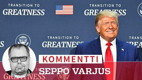 Donald Trumpilla on pitkästä aikaa syytä hymyyn. Alaiset kehuvat hänen neuvottelutaitojaan suuressa koronalääkekaupassa.