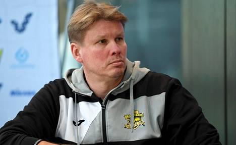 Loimaan valmentaja Jussi Heino.