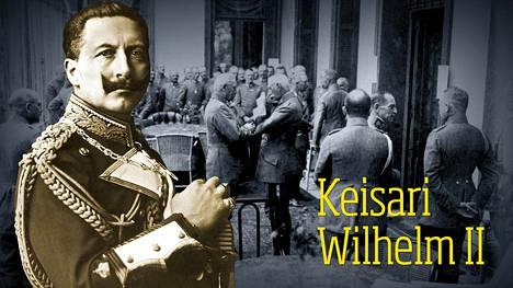 Saksan keisarilla oli kovat kuvitelmat kyvyistään. Todellisuus murskasi ne.