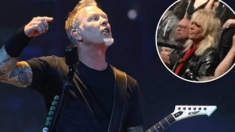"""Metallicalta yllätys! Rocklegenda Michael Monroe esiintyi tähtien kanssa: """"Jos teillä ei ole ollut hauskaa, nyt on"""""""