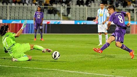 Stevan Jovetic, 23, teki viime kaudella 13 maalia Serie A:ssa.