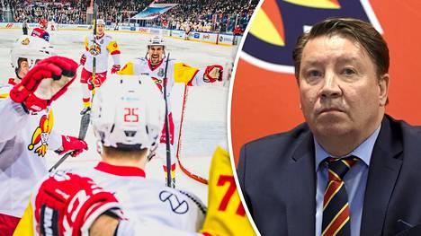 Jokerit saavat seuraavalla kierroksella vastaansa Pietarin SKA:n. Jari Kurrin mukaan KHL-seurat ovat varpaisillaan koronavirusuhan alla.