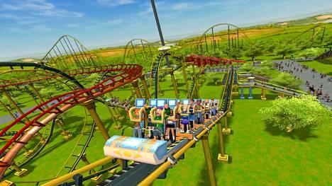 RollerCoaster Tycoon 3:ssa yritetään pärjätä huvipuistoyrittäjänä.