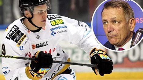 Jesse Puljujärven NHL-tulevaisuus on toistaiseksi Oilersin pomon Ken Hollandin käsissä.
