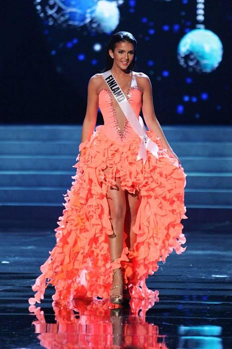 Sara Chafak Miss Universum -kisoissa Las Vegasissa joulukuussa 2012.