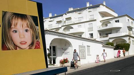 Madeleine McCann katosi tästä portugalilaisesta huoneistohotellista.
