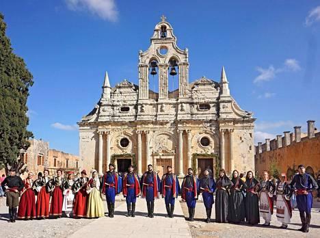 Arkádin luostari on kreetalaisten kokoontumispaikka joka vuosi marraskuun kahdeksantena, vuoden 1866 joukkosurman muistopäivänä.