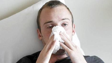 äänen Käheys Flunssa