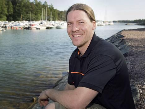 Arkeologi Rami Kokko sai vinkkejä yrityksen perustamiseen yrittäjä-isältään ja -vaimoltaan.