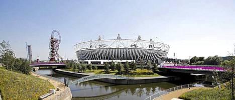 Lontoon Olympiapuisto on valmis suurtapahtumaan.