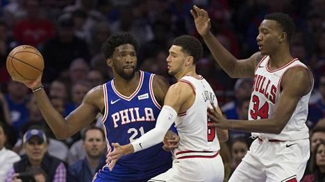 Chicago kompastui heikkoon puolustukseen NBA-avauksessaan