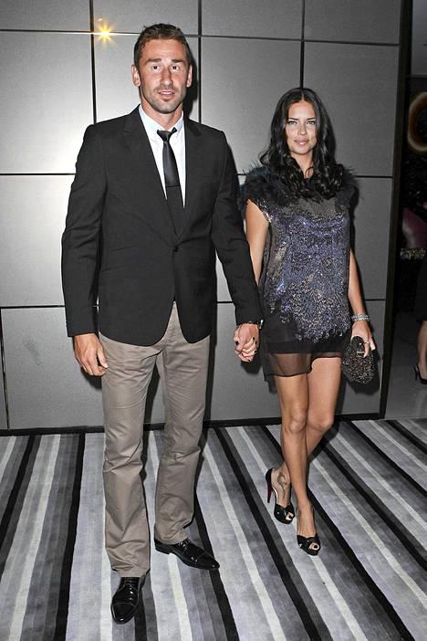 Adriana Lima ja Marko Jaric