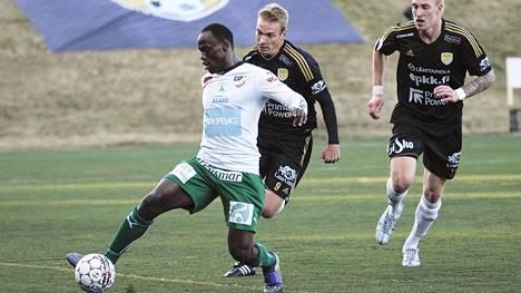 IFK Mariehamnin hyökkääjä Dever Orgill oli yksi mahdollinen tarkkailukohde.