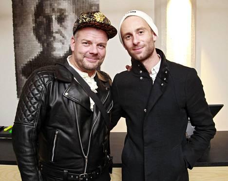 Jari Sillanpää ja Siim Bahmatsov vuonna 2011.