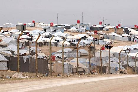 Al-Holin leiri kuvattuna viime joulukuussa.